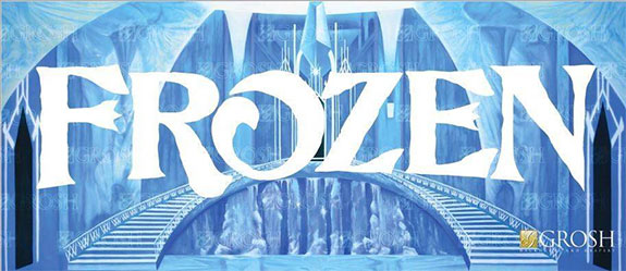 Frozen Backdrops By Grosh