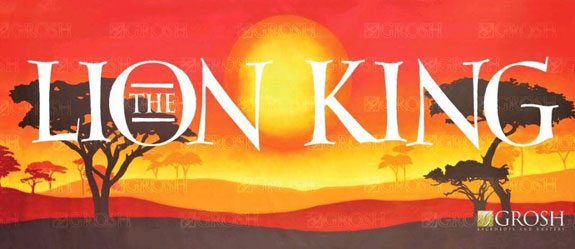 Lion King Backdrops By Grosh