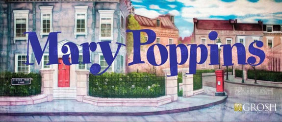 Mary Poppins Backdrops By Grosh