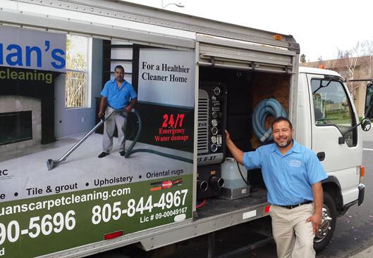 Juans Carpet Cleaning Truckmount