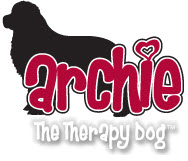 Archie the Therapy Dog Logo