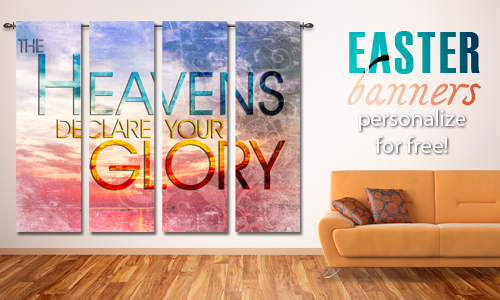 Easter Banners from Churchbanners.com
