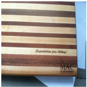 Mac Cutting Boards Dog Collar