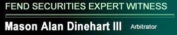 FEND Securities Expert Witness Logo