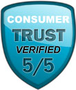 Consumer Trust Rating Verified Image